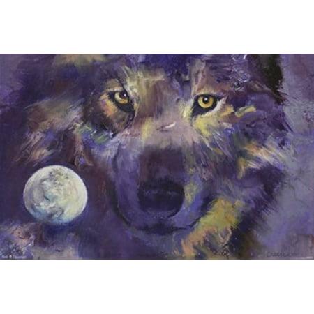 Wolf - Eyes Poster Print