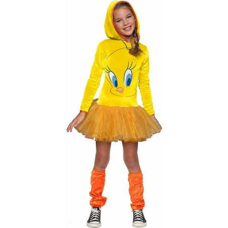 Looney Tunes Tweety Hooded Child Halloween Costume for $<!---->