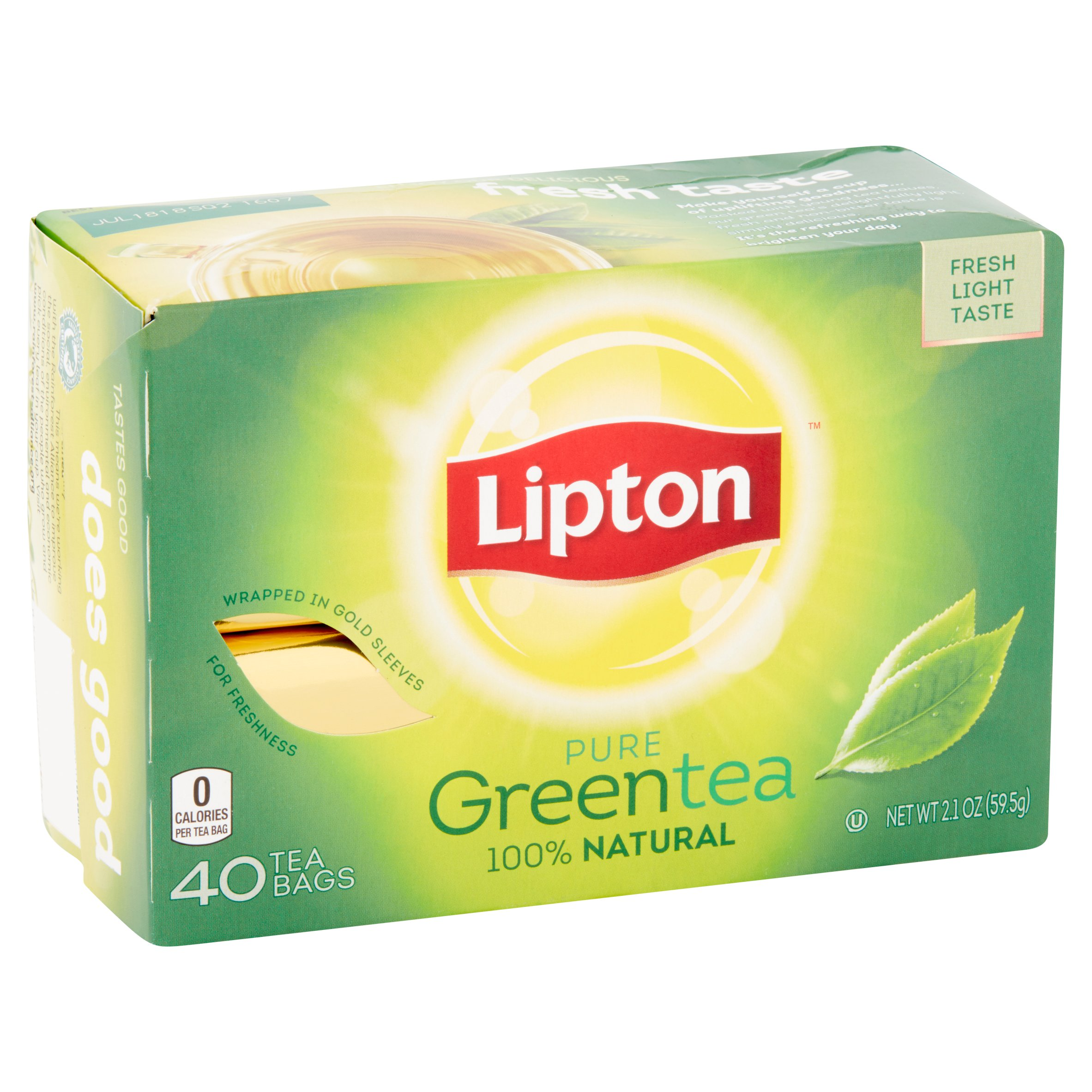 how many calories in a lipton tea bag