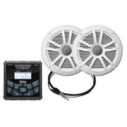Best Marine Stereo Systems - Boss Audio MCKGB450W6 Bluetooth® In-Dash Marine Gauge Receiver Review
