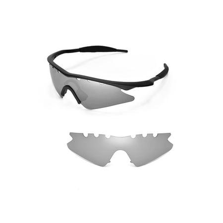 05fca016a7 Walleva - Walleva Titanium Polarized Vented Replacement Lenses For Oakley M  Frame Sweep Sunglasses - Walmart.com