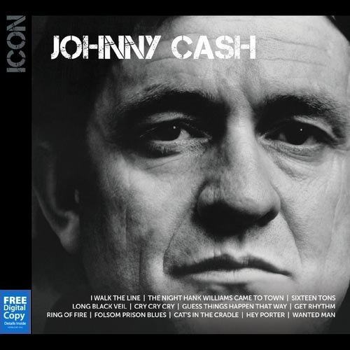 Icon Series: Johnny Cash (Free Digital Copy)
