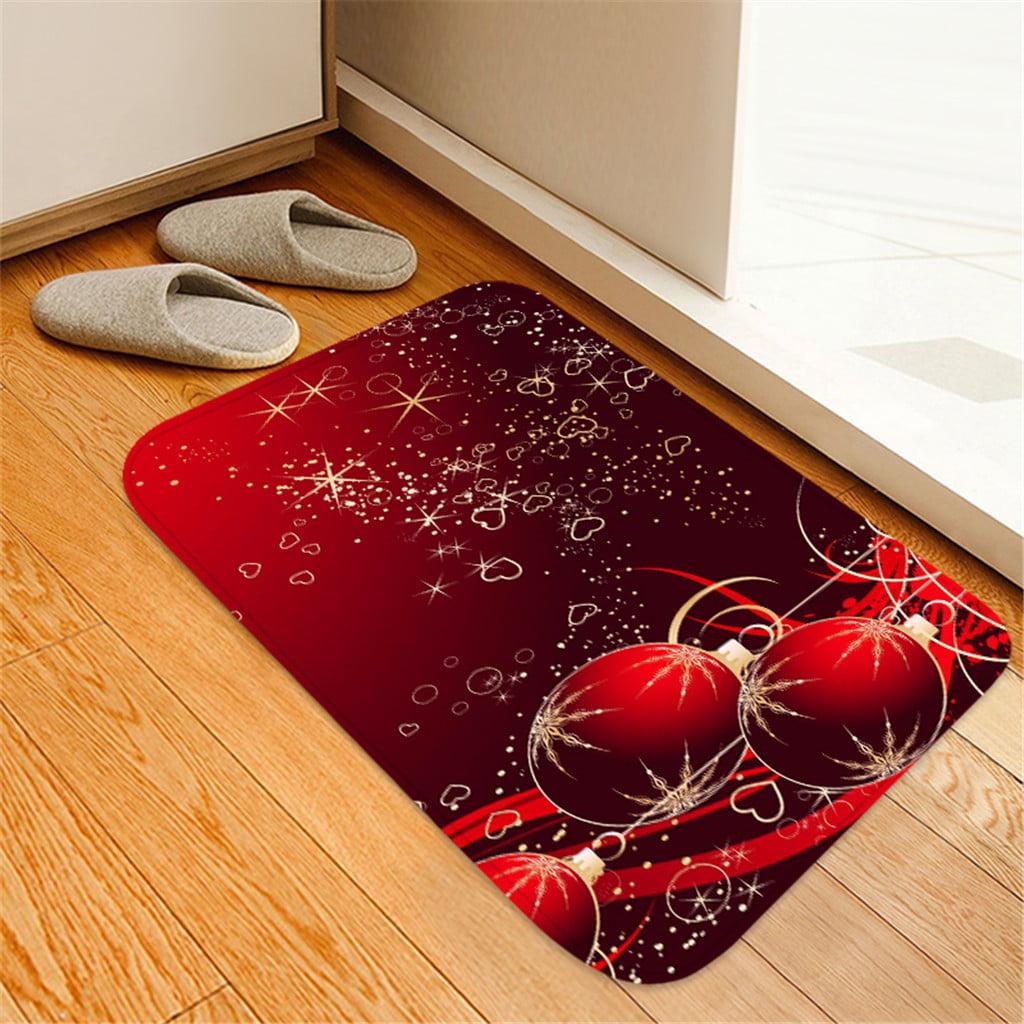 Christmas Carpet Kitchen Doorway Bathroom Floor Carpet ...