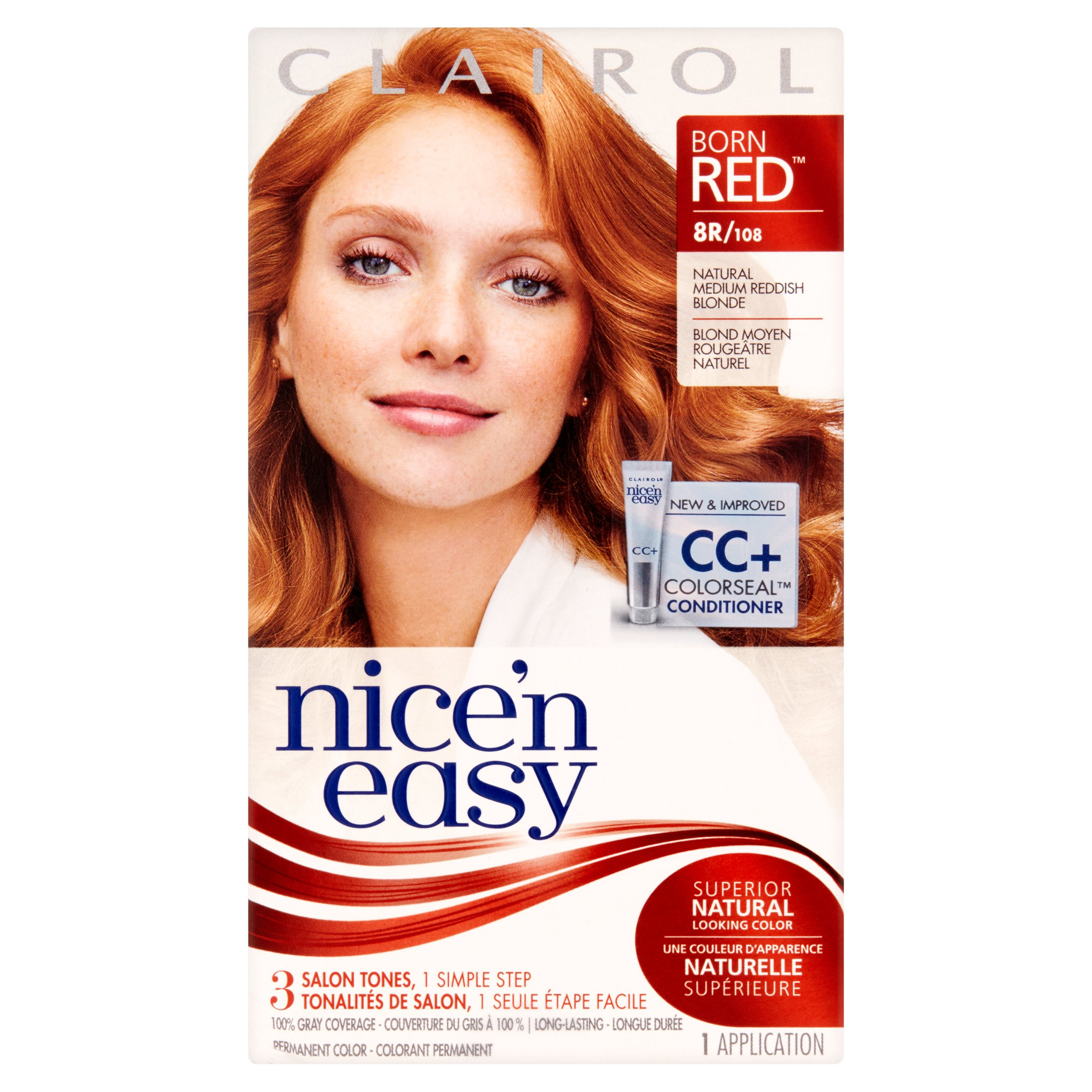 Clairol Nice N Easy Permanent Hair Color Natural Medium Reddish