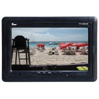 """Tview T711HRIR 7"""" TFT LCD Headrest Monitor With Shroud And Stand"""