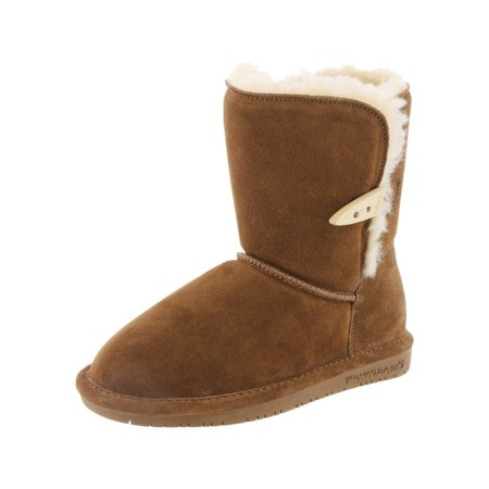 Bearpaw Boots Girl Abigail Suede Comfortable Stylish Toggle 682Y