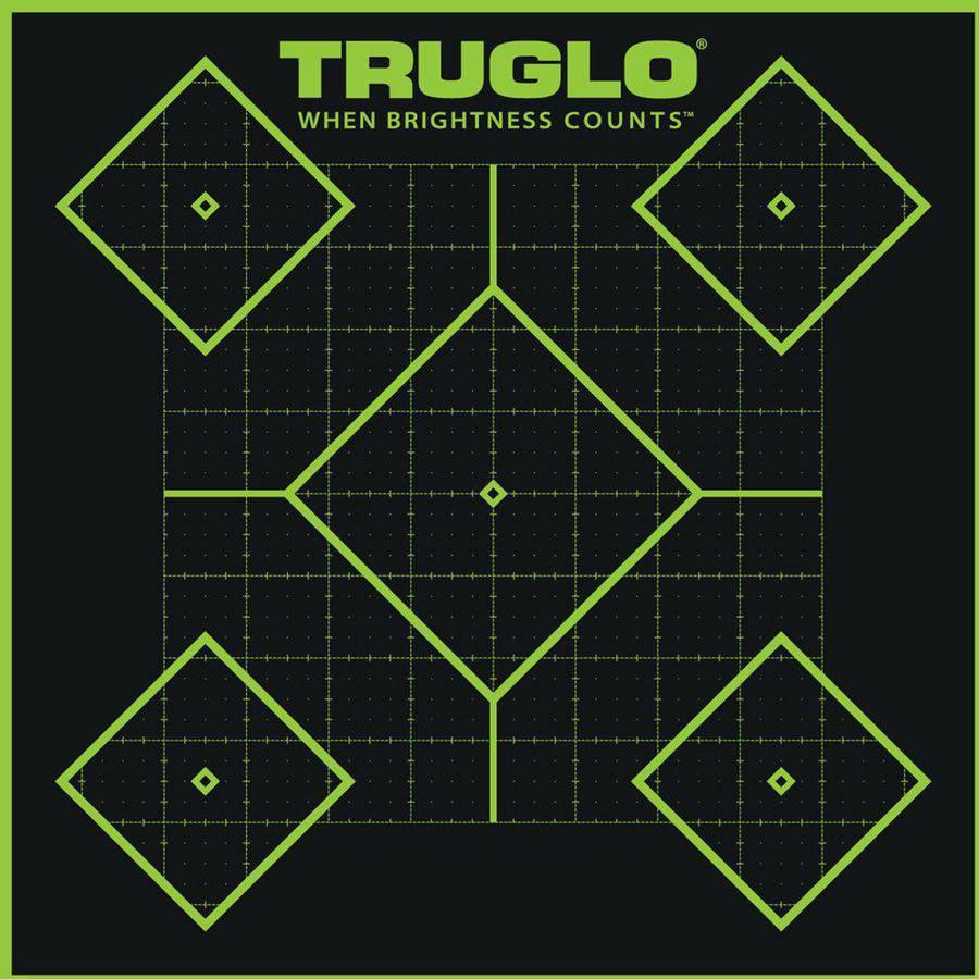 "Truglo TG14A6 Tru-See Splatter Targets, 12"" x 18"", 6 Pack"