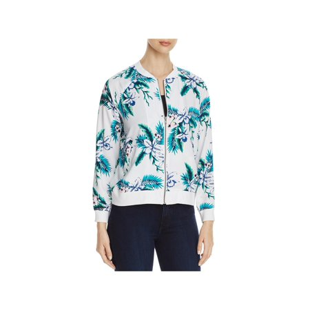 Cupcakes and Cashmere Womens Anjelica Fall Lightweight Bomber - Cashmere Wool Sport Coat