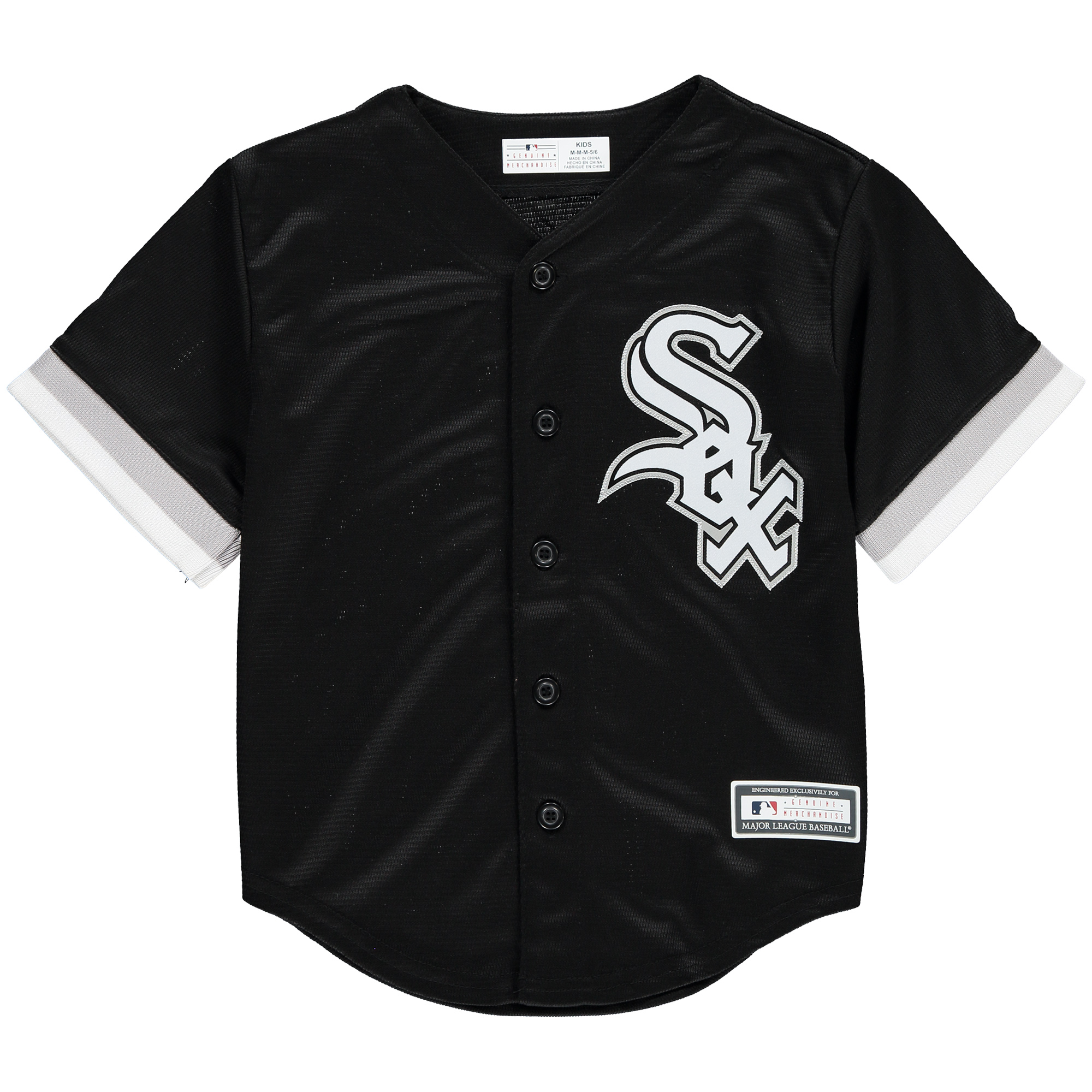 Chicago White Sox Preschool Replica Team Jersey - Black