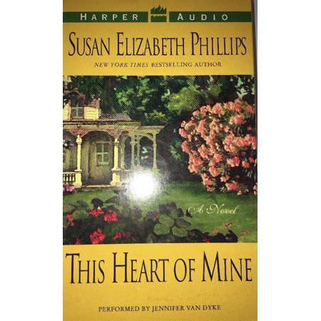 SUSAN ELIZABETH PHILLIPS This Heart Of Mine 4 Cassette