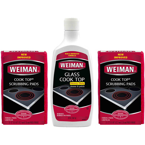 Weiman Cook Top Cleaner & Polishing Care Set, 3 pc
