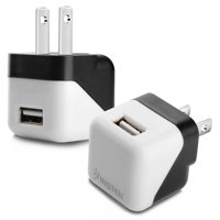 Chargers walmart usb charger by insten universal black usb 1a travel adapter wall ac charger for iphone x greentooth Gallery