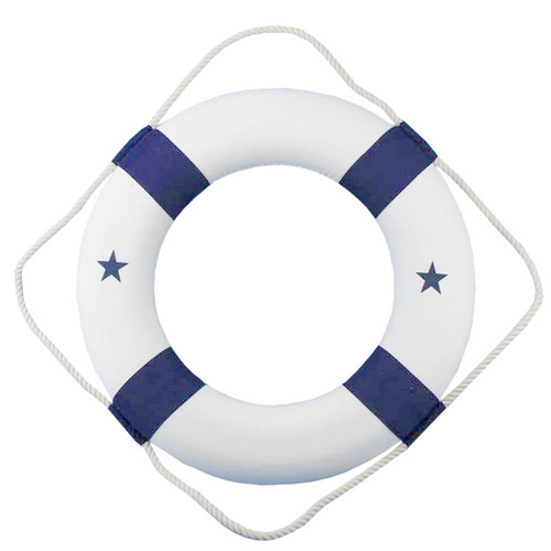 Handcrafted Nautical Decor Classic Life Ring Decor Wall D cor
