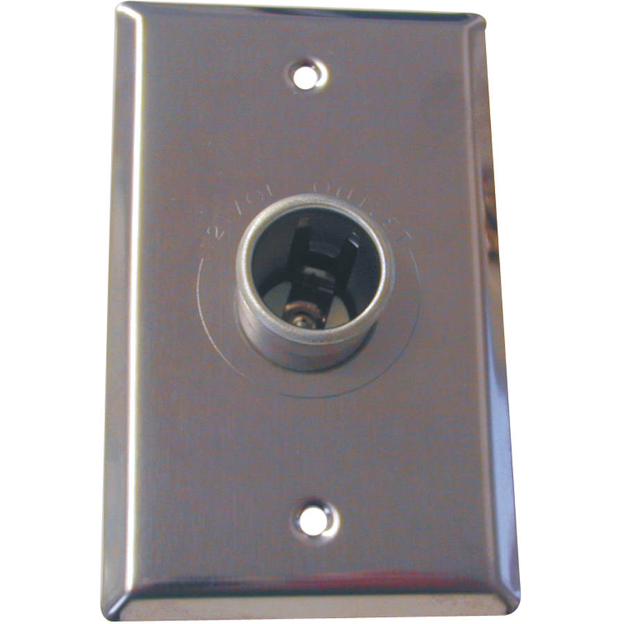 Prime Products 08-5010 12 Volt Wall Plate Receptacle