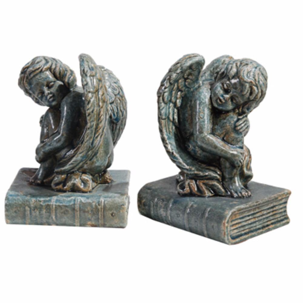 Angel Figurine Decorative Bookends, Set of 2