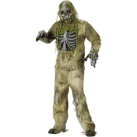 Skeleton Zombie Adult Halloween Costume - Halloween Zombie Costumes Cheap