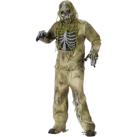 Ideas For Zombie Costumes (Skeleton Zombie Adult Halloween)
