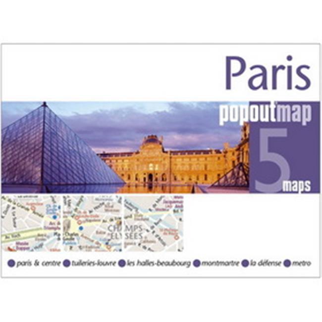 Universal Map 18903 Paris Popout Map - image 1 of 1