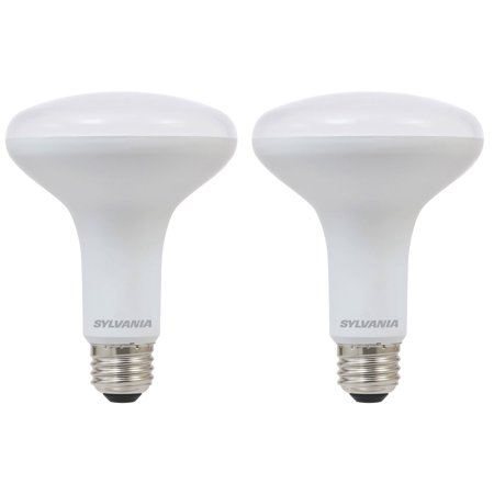 Sylvania BR30 65W Energy Saving Dimmable 2700K LED Flood Light Bulb (2 Pack)