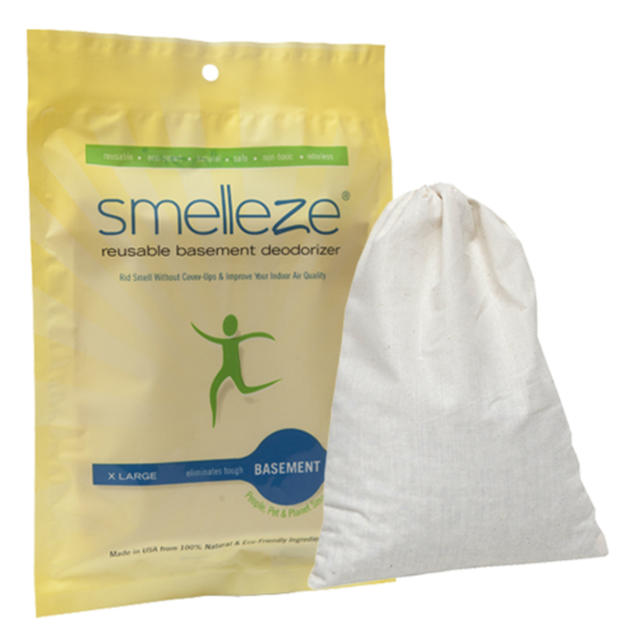 New Smelleze Basement Deodorizer Pouch