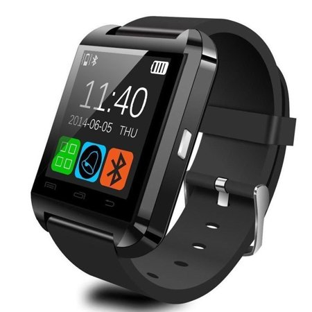 U8 Bluetooth Smart Watch for Android Smartphones - Black ()
