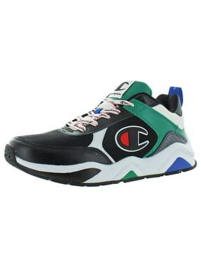 Champion Men's 93Eighteen Big C Low Top Lace Up Sneakers
