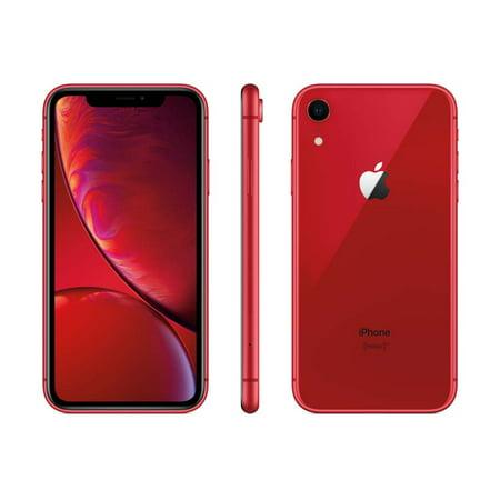iPhone XR 128GB Red (Unlocked) Refurbished ()