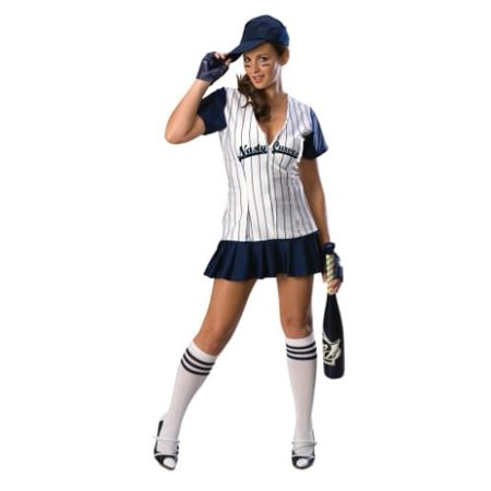 Sexy Female Baseball Player Adult Costume X-Small - Football Player Costume Diy