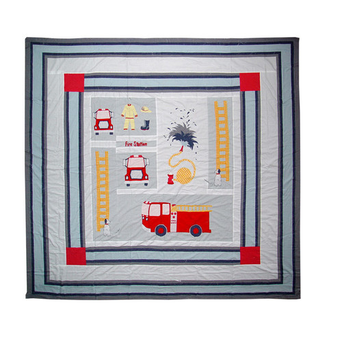 Patch Magic Fire Truck Quilt