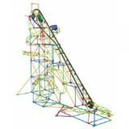K'NEX Super Cyclone Coaster Motorized Building Set](Knex Rollercoaster)