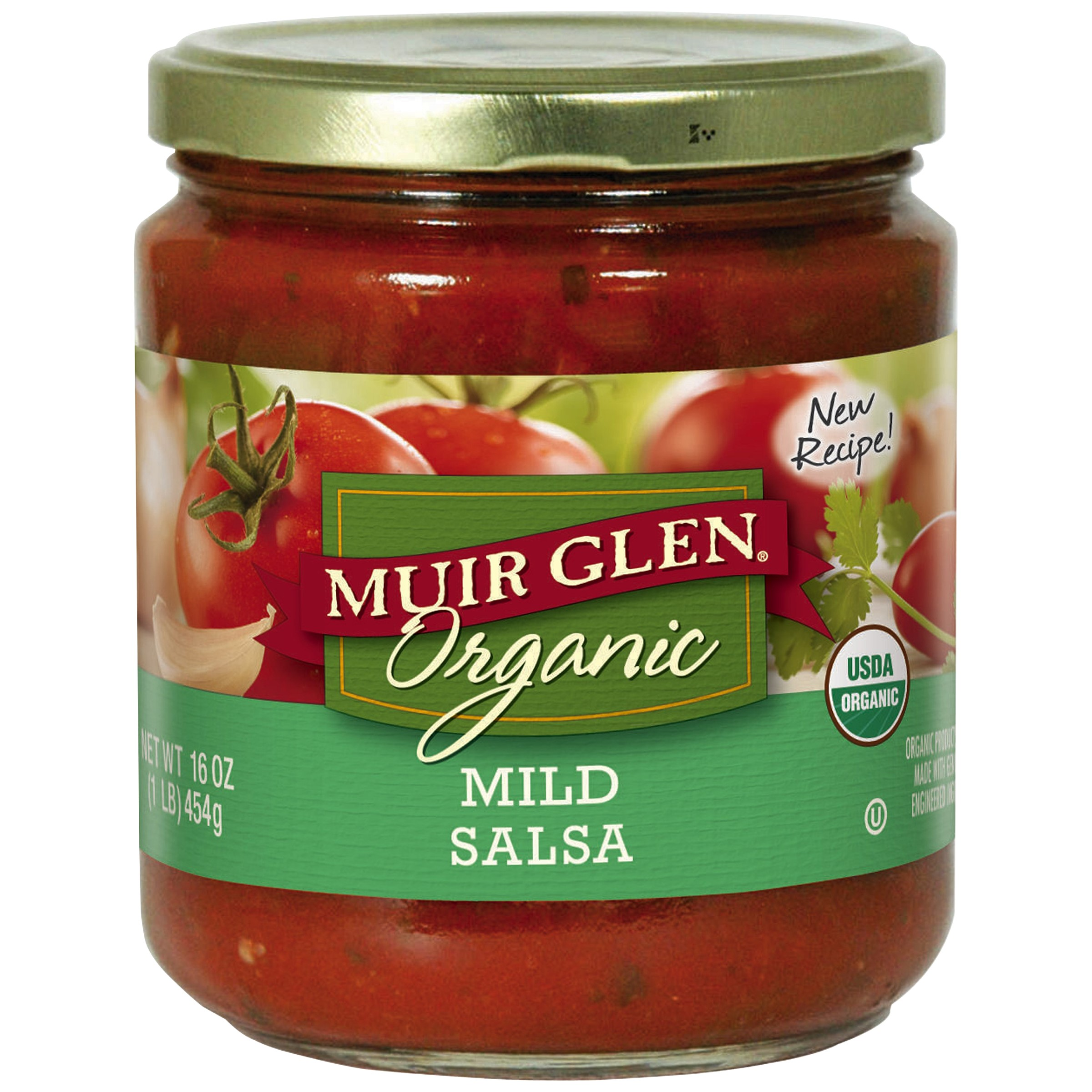 Muir Glen Organic Mild Salsa 16 oz Jar by General Mills