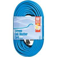Woods Cold Flex 12/3 SJTW Extension Cord with Lighted Female End, (Cold Flex Cord)