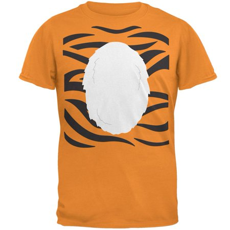 Halloween Tiger Costume Mens T Shirt