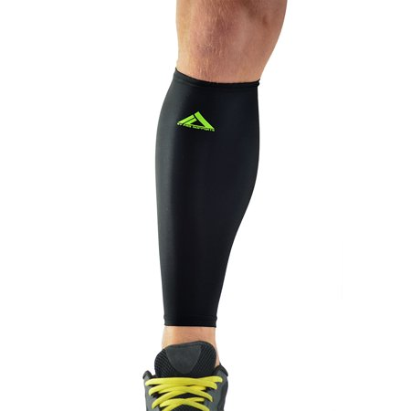 PAIR Calf Compression Sleeves Calves Brace Support Shin Guard Leg Compression Socks for Splint, & Calf Pain Relief - Men, Women, and Runners for Running Cycling