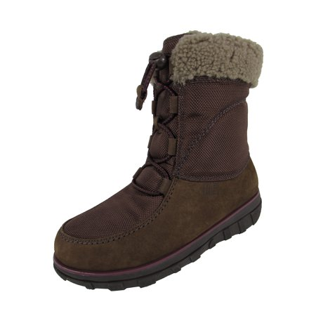 90245e3ef FitFlop - Fitflop Womens Loaff Waterproof Lace Up Boot Shoes - Walmart.com