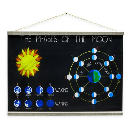 Moon Phases Chart by Drew Barrymore Flower Kids ()