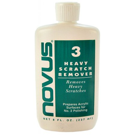 Novus  3 Heavy Scratch Remover Acrylic Polish 8 Oz