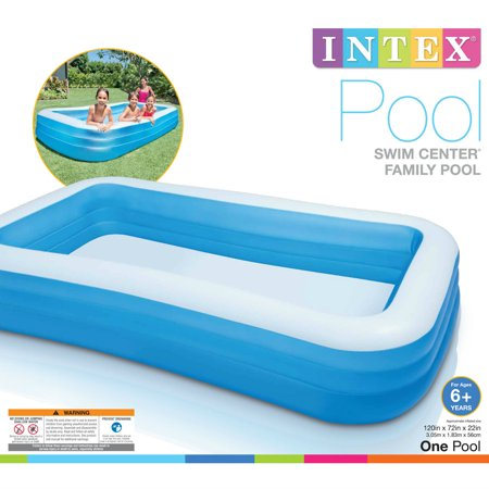 Intex Inflatable Swim Center Family Lounge Pool, 120