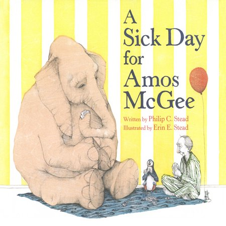 Sick Day For Amos Mcgee, A - Audiobook (A Sick Day For Amos Mcgee Illustrations)