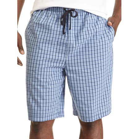 Plaid Cotton Pajama Shorts - Nautica Mens Pajamas