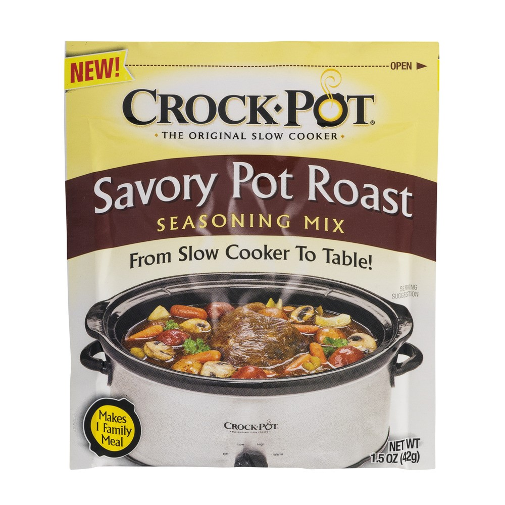 Crock-Pot Seasoning Mix, Savory Pot Roast, 1.5 Oz