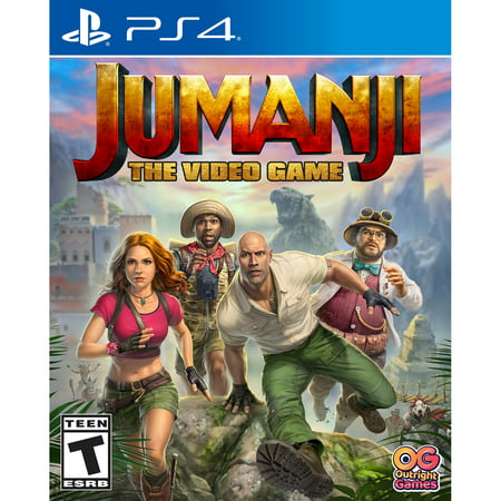 Jumanji The Video Game, Bandai Namco, PlayStation 4, 819338020778