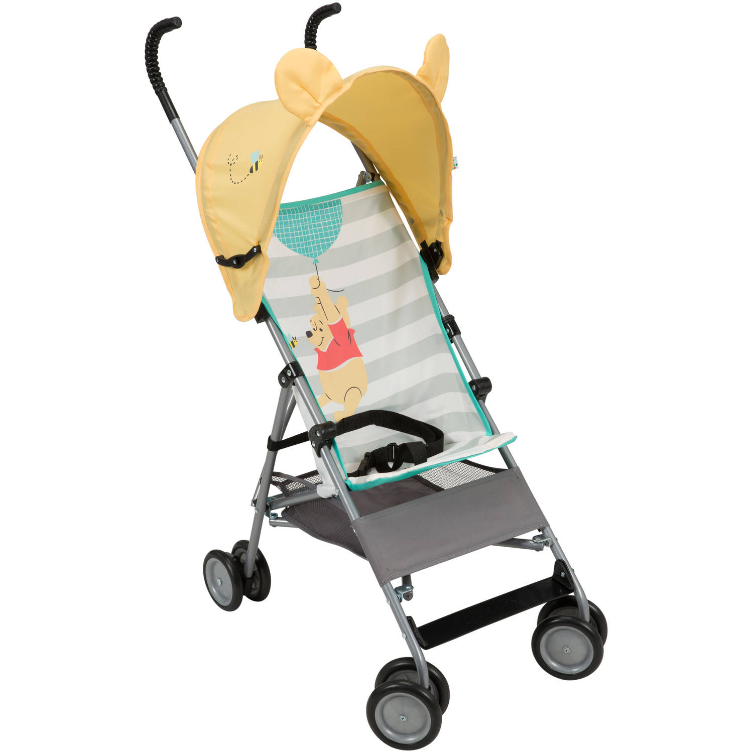 Disney Baby, Winnie the Pooh, Umbrella Stroller with Basket