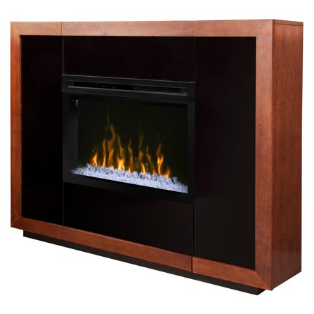 Dimplex salazar mantel electric fireplace with acrylic - Going to bed with embers in fireplace ...