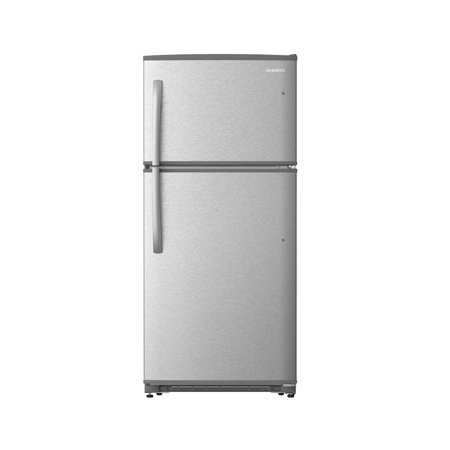 Daewoo RTE18GSSLD Top Mount Refrigerator 18. Cu. Ft. | Stainless (Kenmore 21 Cu Ft Refrigerator Side By Side)