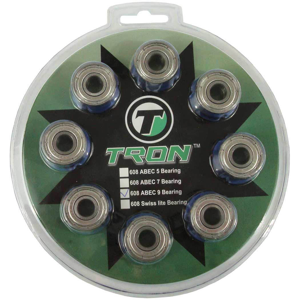 TronX Inline Hockey Skate Bearings (ABEC-9) by