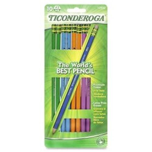 Dixon Ticonderoga Company Ticonderoga No. 2 HB Pencil (10 Per Card) (Set of 2)