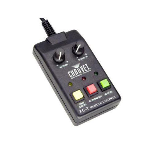 Chauvet DJ FC-T Fog Machine Wired Timer Remote H1800 H1300 H1100 LED Indicator by
