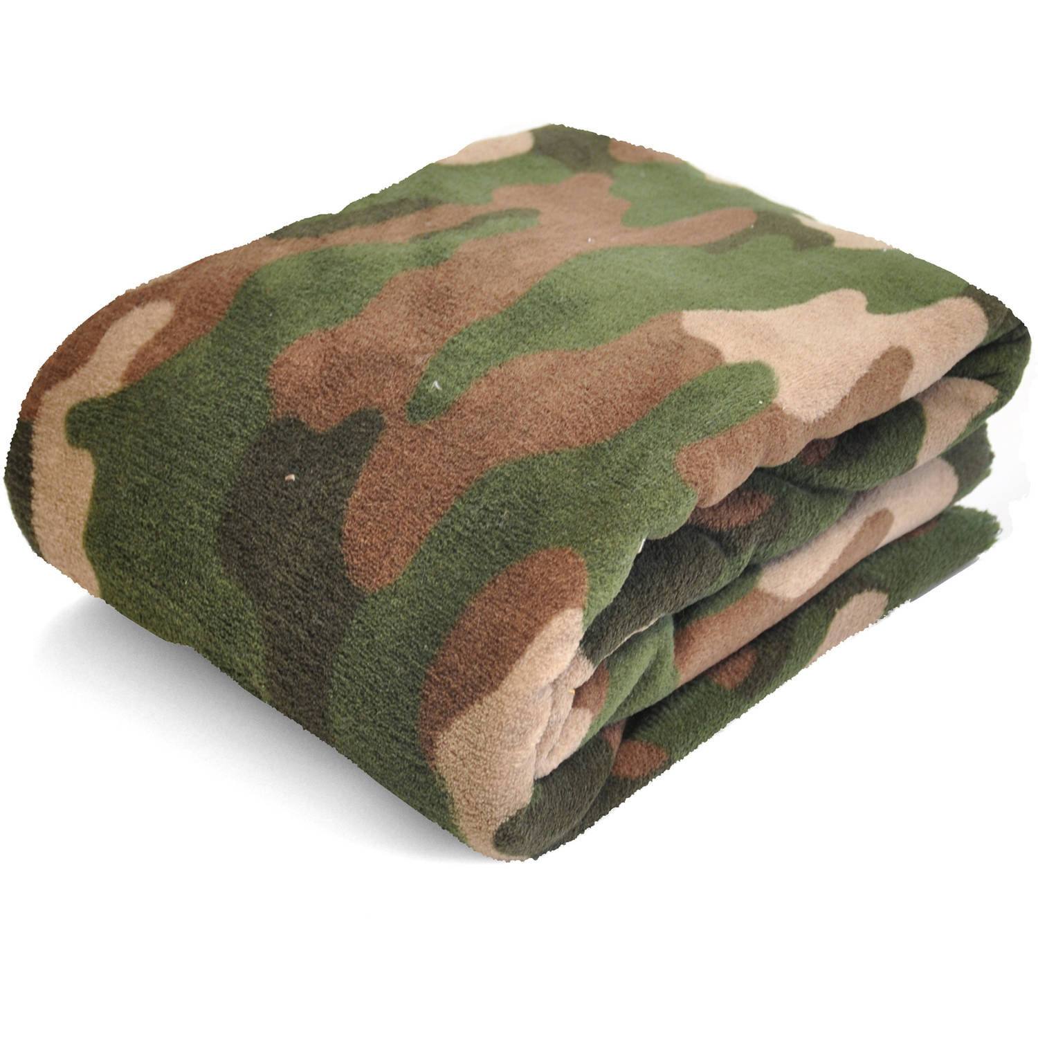 Mainstays Kids Camo Plush Throw