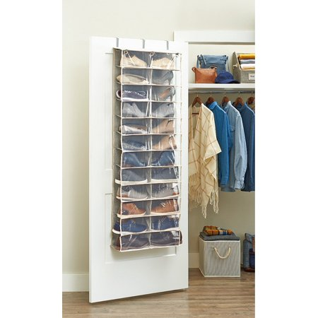 Better Homes Gardens Charleston Collection 24 Shelf Over The Door Shoe Organizer